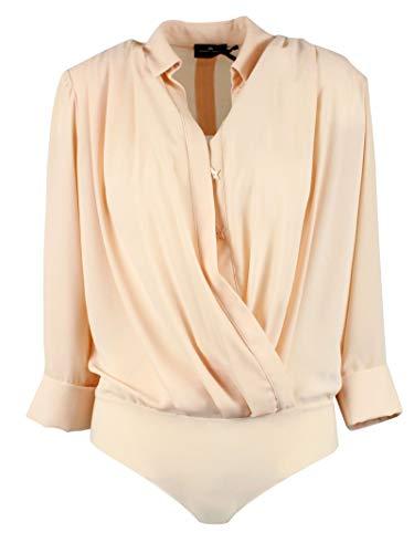 Body Polyester Elisabetta Franchi Cb03991e2350 Rose Femme TBv1qza