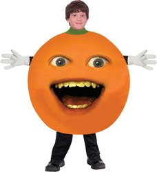 [WMU - Annoying Orange Child] (Annoying Orange Kids Costumes)