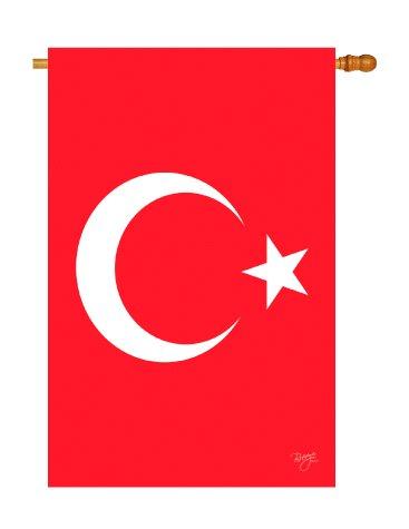 Vertical House Flag Banner - 8