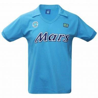 Napoli Vintage SSC 1988/89 Retro Soccer Shirt (Mars)