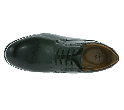 Clarks Vestir Hombre Hopton Walk Piel Zapatos De Weite Passform Tamaño 43
