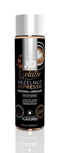 System Jo Gelato Personal Lubricant, Hazelnut Espresso, 4 Ounce - System Jo Personal Lubricant