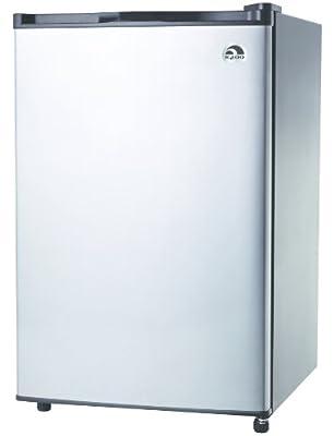 Igloo FR465 4.6-Cu-Ft Refrigerator, Stainless Steel Door
