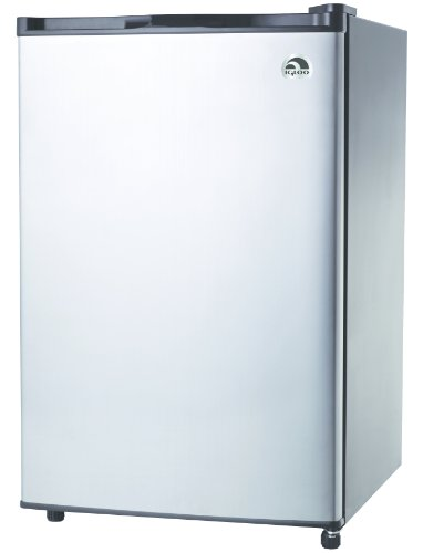 4.6 Cu. Ft. Stainless Steel Refrigerator by Igloo