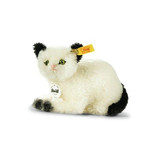 (Steiff Kitty Cat Black/White 6