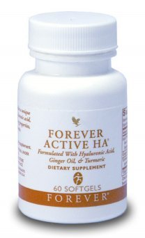 Forever Living Active HA / Herbal Supplement 60 Softgels Formulated with Hyaluronic Acid, Ginger Oil & Turmeric Review