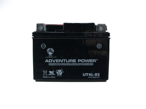 UPG UT4L-BS Adventure Power Power Sport AGM Series Dry Charge AGM Battery