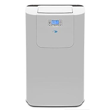 Whynter ARC-122DHP Elite 12000 BTU Dual Hose Digital Portable Air Conditioner with Heat and Drain Pump