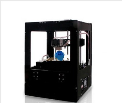 GOWE Three-Dimensional Single Extruder 3D Printer Machine Metal Frame Structure with Optimized Build Platform