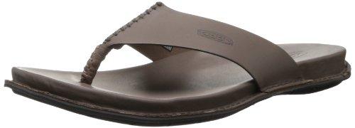 KEEN Men's Alman Thong Flip Flop,Iron,7.5 M US - Keen Sandal Alman