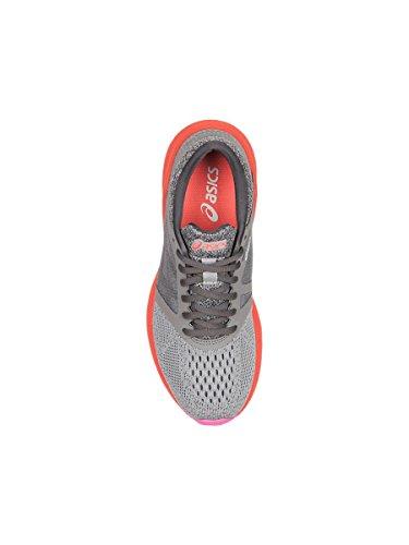 de Zapatillas Mujer flash silver Roadhawk Entrenamiento Carbon para Gris Asics Coral Ff Bxftqw