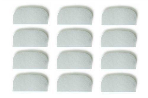 ブランドない両立つや出し濾過スポンジ敷物フルーバル Fluval 104 105 106 204 205 206に適用できる B00JQU5A7I 12個  12個