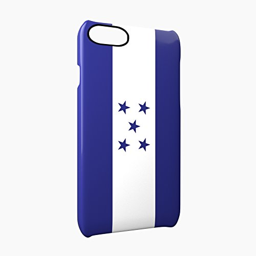 Flag of Honduras Glossy Hard Snap-On Protective iPhone 7 Plus + Case Cover