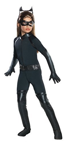 Hallo (Girls Deluxe Catwoman Costume)