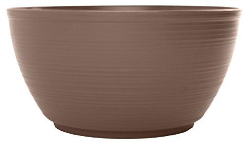 Bloem PB12-18 Dura Cotta Plant Bowl, 12-Inch, Curated