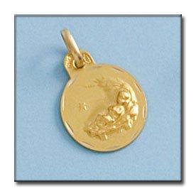 Medalla Niño En Paja D'or