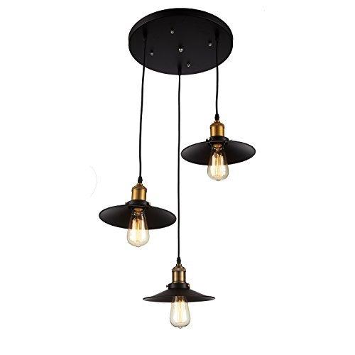3 Bulb Pendant Light Fixture in US - 7