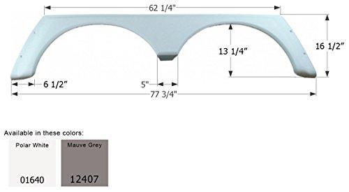 [ICON Alpenlite Tandem Fender Skirt FS779, Polar White] (Advance Skirt)