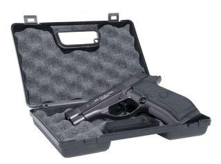 G8DS® Pistolenkoffer Waffenkoffer schlagfester Kunststoff mit Schaumstoffeinlage 23,0 x 15,0 x 6,0 cm (LxHxT)