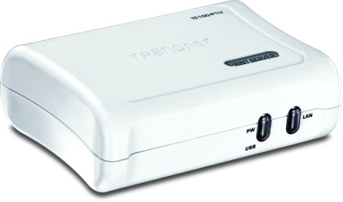 TRENDnet 1-Port Print Server TE100-P1U by TRENDnet