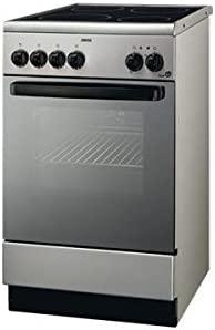 Zanussi - Cocina Conv. Zanussi Zcv560Mx, Vitroceramica,4 Fuegos ...