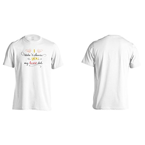 Ich Habe Nicht Gewählt, Dass Mein Herz Tat Herren T-Shirt k667m