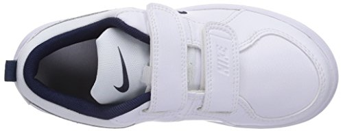 Nike Pico 4 (PSV), Jungen Sneakers Weiß (White/Midnight Navy)