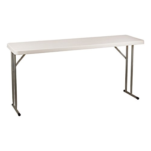 Norwood Commercial Furniture NOR-WOB1896-SO Blow-Molded Plastic Folding Training Table, 29