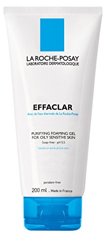 La Roche-Posay Effaclar Purifying Foaming Gel Cleanser for Oily Skin, 13.5 Fl Oz.