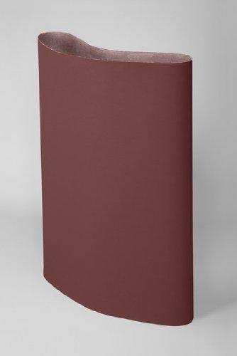 3M 341D Coated Aluminum Oxide Sanding Belt - P150 Grit - 37 in Width x 75 in Length - 32515 [PRICE is per BELT]