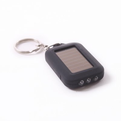 Leegoal Rechargeable Flashlight Keychain Black