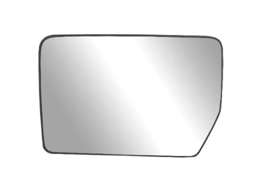 Fit System 33194 Driver Side Heated Replacement Mirror Glass with Backing Plate