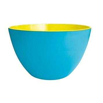 Zak Duo Salatschussel 28 Cm Blau Gelb Amazon De Kuche Haushalt