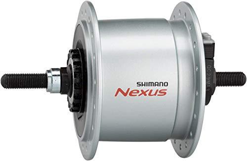 namo Roller Brake 36h Front Hub Silver, No hub nuts ()
