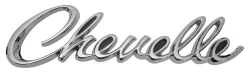 """1968 Chevelle /""""Chevelle/"""" Trim Parts 4502 Rear Panel Emblem"""