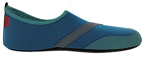 FitKicks MEN's Active Lifestyle Footwear, Large, Navy
