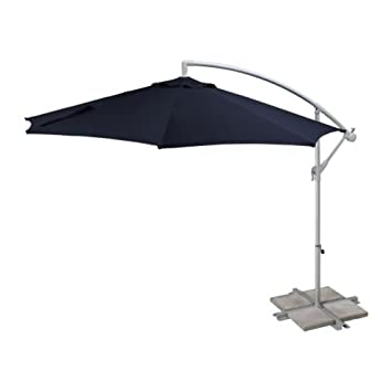 "Sehr Gut Amazon.de: IKEA Hängesonnenschirm ""Baggön"" Sonnenschirm mit Kurbel  TY16"