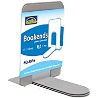 """Bookends 6"""" (152mm) - *BK, BL, GY"""