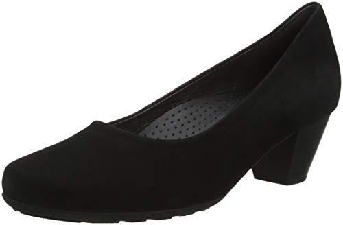 Toe Gabor Black Closed Comfort Pumps Women's Schwarz Fashion 47 6IvrIq17w