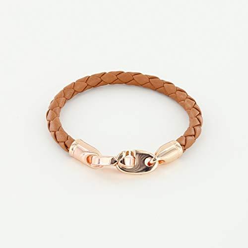 Lure Single Wrap Leather Bracelet