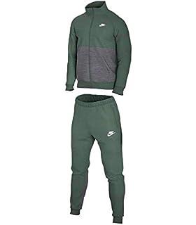 NIKE M NSW CE TRK Suit FLC Chándal, Hombre: Amazon.es: Deportes y ...