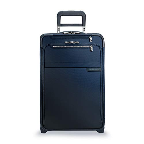 "Briggs & Riley Baseline Domestic Expandable Carry-On 22"" Upright, Navy"
