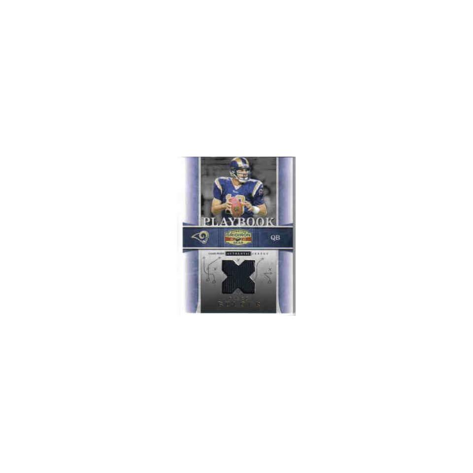 2007 Donruss Gridiron Gear Playbook Platinum #4 Marc Bulger