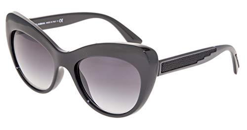 - Dolce & Gabbana Authentic Sunglasses DG6110 Black w/Grey Gradient Lens 5018G DG 6110 (52mm)