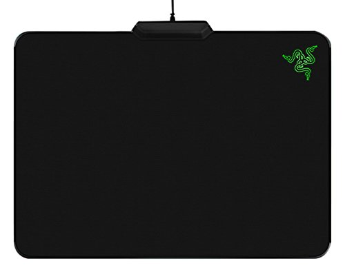 31kpjsSR2aL - Razer Firefly - Gaming Mouse Mat with Chroma Custom Lighting - Mouse Pad Preferred by Pro Gamers