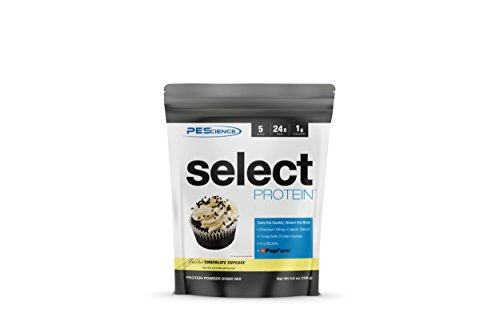 PEScience Select Protein, Premium Whey and Casein Blend (Frosted Chocolate Cupcake, 5 Serving)