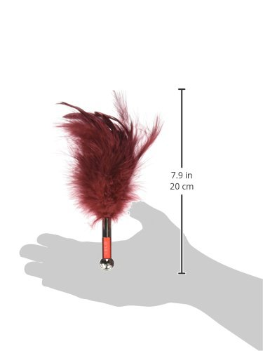 LELO Tantra Feather Teaser, Red by LELO (Image #3)