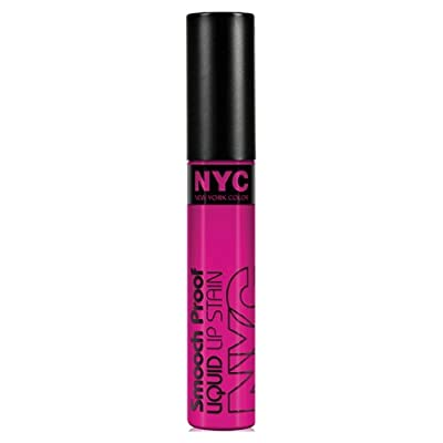 (3 Pack) NYC Smooch Proof Liquid Lip Stain - Unforgettable Fuchsia