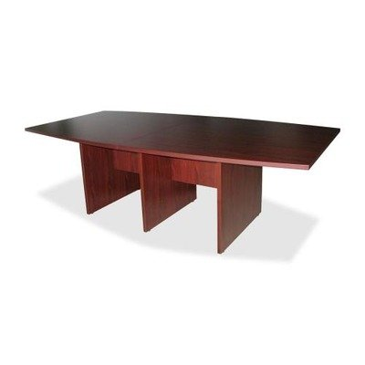 Lorell Conference Tabletop, 48 by 96 by 1-1/4-Inch, Mahogany by Lorell