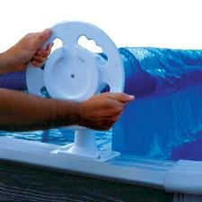 Doheny's Deluxe Above-Ground Solar Pool Cover Reel System (up to 24' Pool) ()